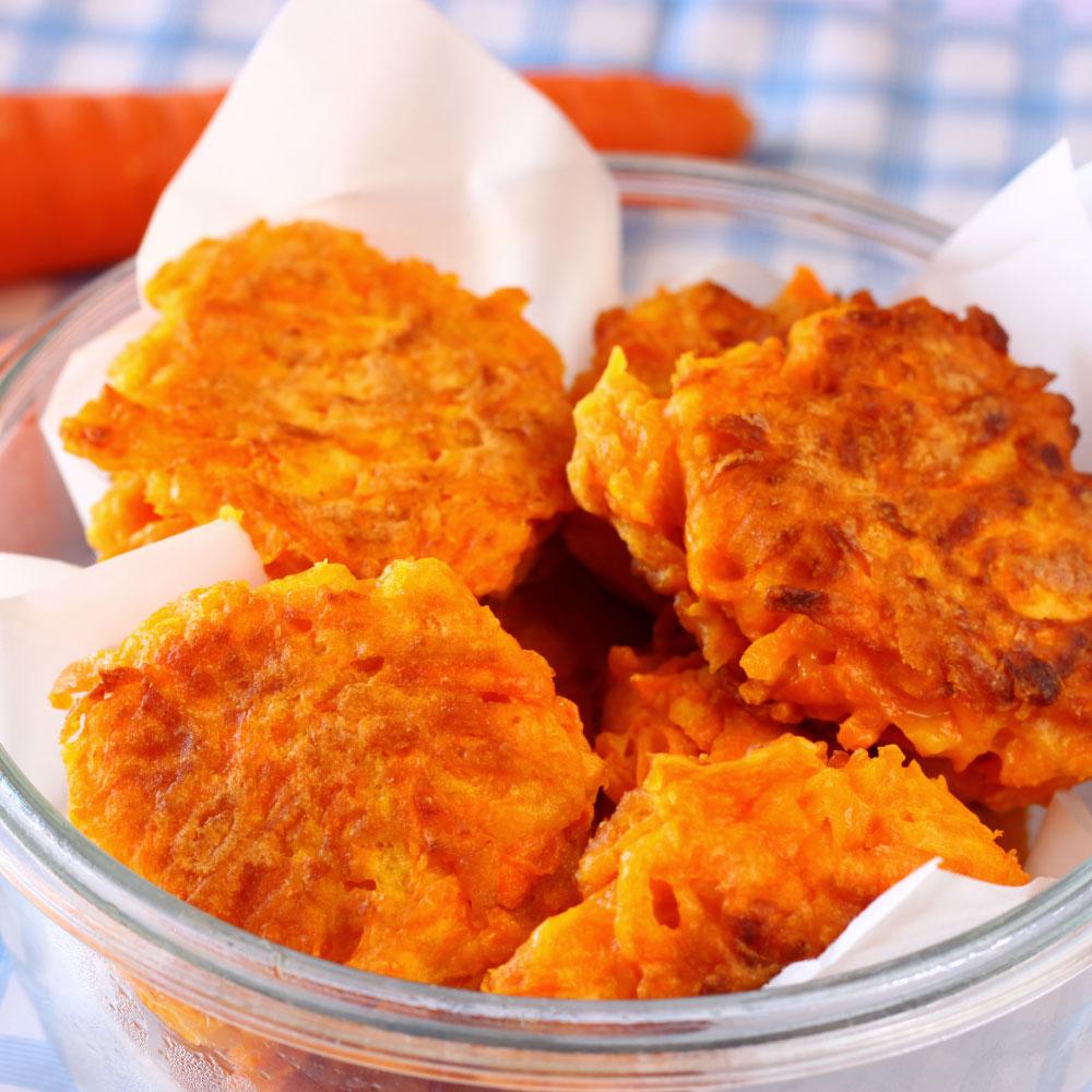Verduras Tabuenca Tortitas De Zanahoria Es una ensalada que se prepara al horno, y donde la zanahoria es el ingrediente principal. verduras tabuenca tortitas de zanahoria